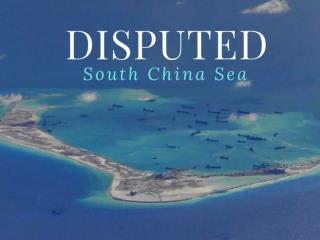Disputed South China Sea