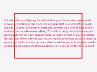 Motorcycle accident lawyer Santa Ana,