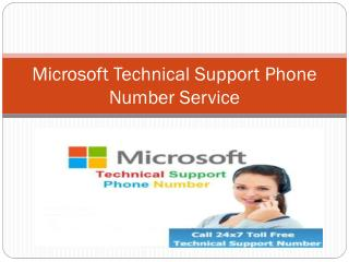 How to Get Microsoft Technical Support Phone Number