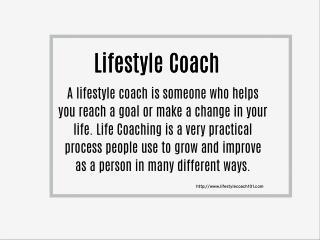 Lifestylecoach101