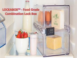 LOCKABOX - Food Grade Combination Lock Box