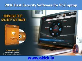 Best Security Software - Akick Total Security