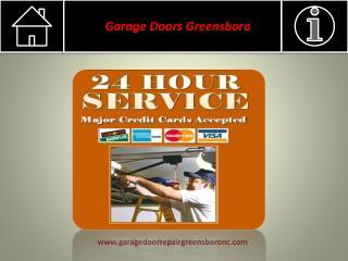 Garage Door Spring Repair Greensboro, NC