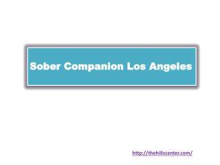 Sober Companion Los Angeles