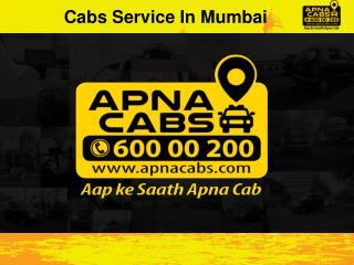 Cabs Service In Mumbai