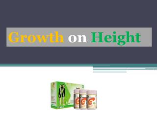 Growth on Height