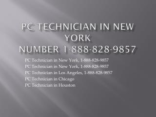 Computer 1-888-828-9857 Technician in USA City