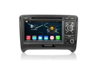 "Autoradio Android Audi TT de 2006 à 2012 Android 4.4.4 GPS DVD USB Bluetooth écran tactile 7"""