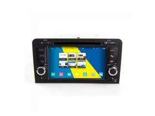 Autoradio Android Audi A3/S3/RS3 (2003-2012) Poste DVD GPS Android 4.4.4 USB Bluetooth écran tactile Mirrorlink AirPlay