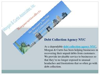Debt Collection Agency Services New York