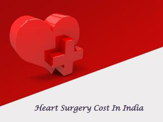 Heart Surgery in india