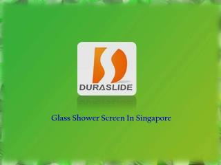 Glass Shower Screen Singapore