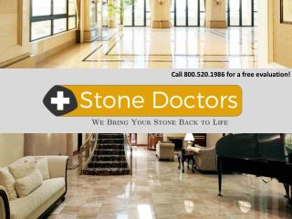 Stone Sealing, Repair and Granite Restoration Boca Raton FL