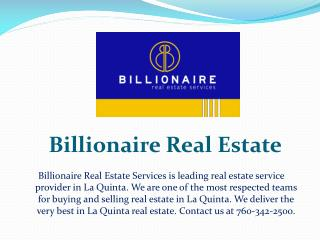 Billionaire Real Estate