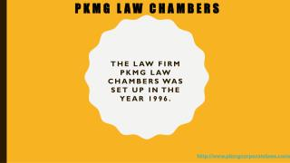 Law Firms in India | PKMG