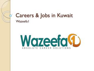 Careers and Jobs in Kuwait