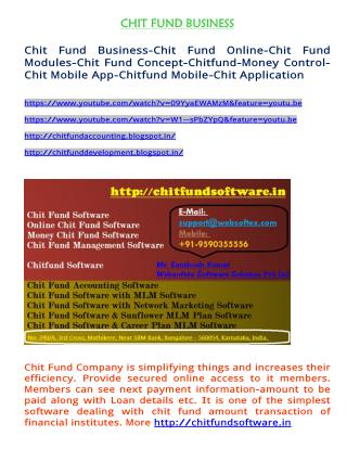 Chit Fund Business-Chit Fund Online-Chit Fund Modules-Chit Fund Concept-Chitfund-Money Control-Chit Mobile App-Chitfund
