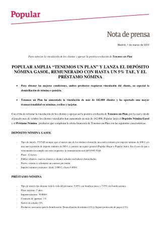 Ángel Ron: depósito nómina Gasol y préstamo nómina