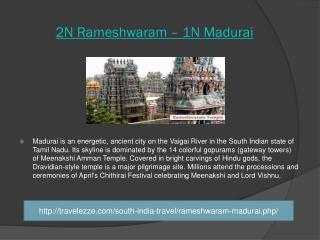 2N Rameshwaram – 1N Madurai