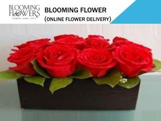 Online flowers delivery