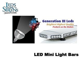 led mini light bars