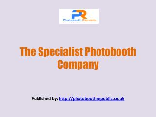 The Specialist Photobooth Company