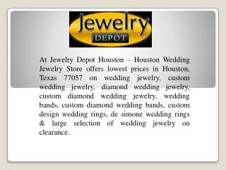 Wedding Rings Houston In Texas