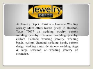Wedding Rings Houston In Texas
