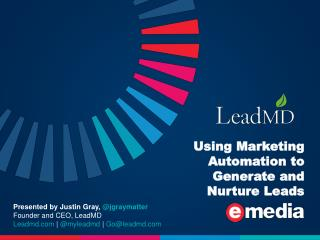 How to Use Marketing Automation to Generate and Nurture Leads