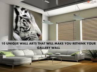 10 Unique Wall Arts That Will Make You Rethink Your Gallery Wall