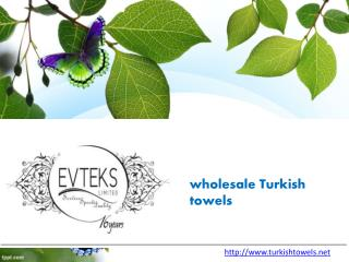 Turkish bed linen manufacturers