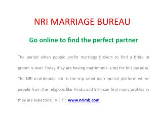 Marriage Bureau Canada