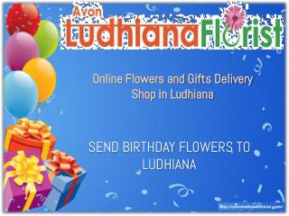 Birthday Flowers Delivery In Ludhiana
