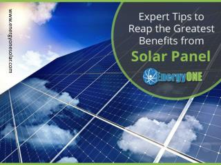 Tips to Make the Most of Your Solar Panels in KC