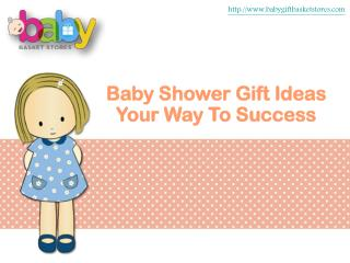 Baby Shower Gift Ideas Your Way To Success