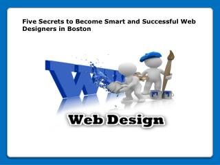 Successful Web Designers in Boston
