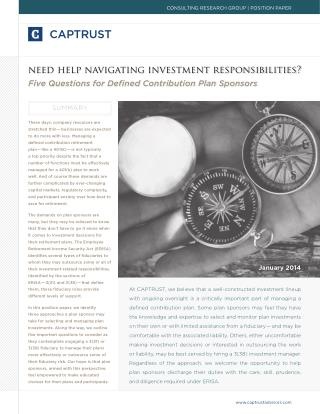 Need Help Navigating Investment Responsibilities?