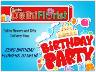 Birthday Flowers Delivery In Delhi