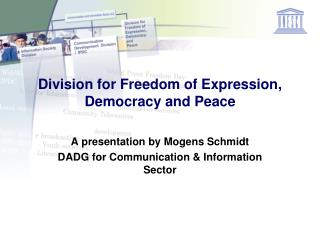Division for Freedom of Expression, Democracy and Peace