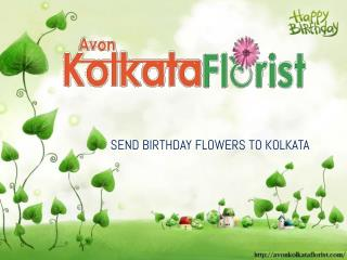 Birthday Flowers Delivery In Kolkata