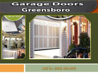 Experts Garage Doors Greensboro NC