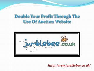 Double Your Profit Through The Use Of Auction Website