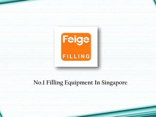 Filling Equipment Singapore