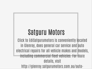 Glenroy's Best Auto Electricians