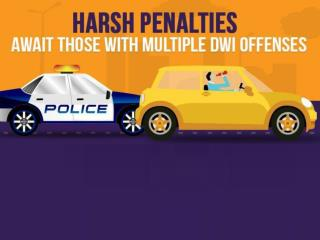 Harsh penalties await those with multiple DWI offences