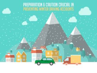 Preparation and caution crutial in preventing winter driving accidents