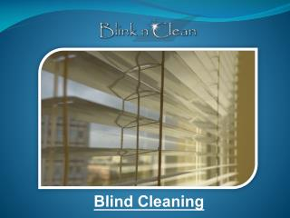 Blind Cleaning - Blink n Clean