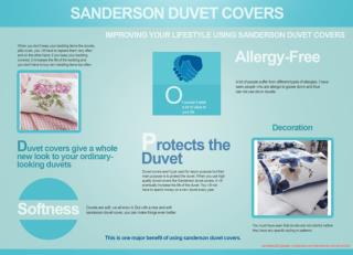 IMPROVING YOUR LIFESTYLE USING SANDERSON DUVET COVERS