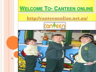 Canteenonline- Primary School Canteen Online