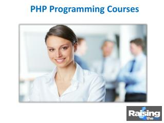 An Overview of PHP Programming Courses